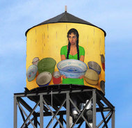 Dressing New York Citys Water Tanks - NYTimes.com